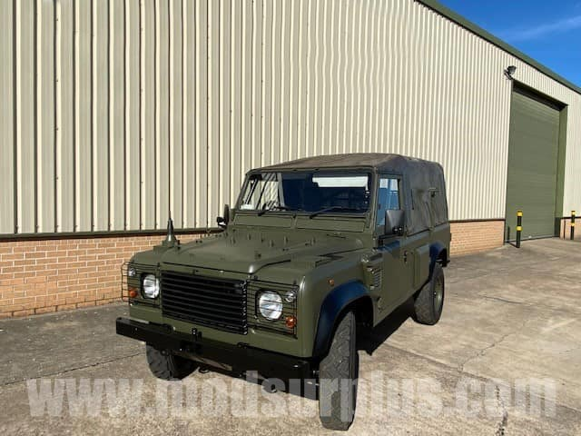 military vehicles for sale - Land Rover Defender 110 Wolf  RHD Soft Top (Remus)