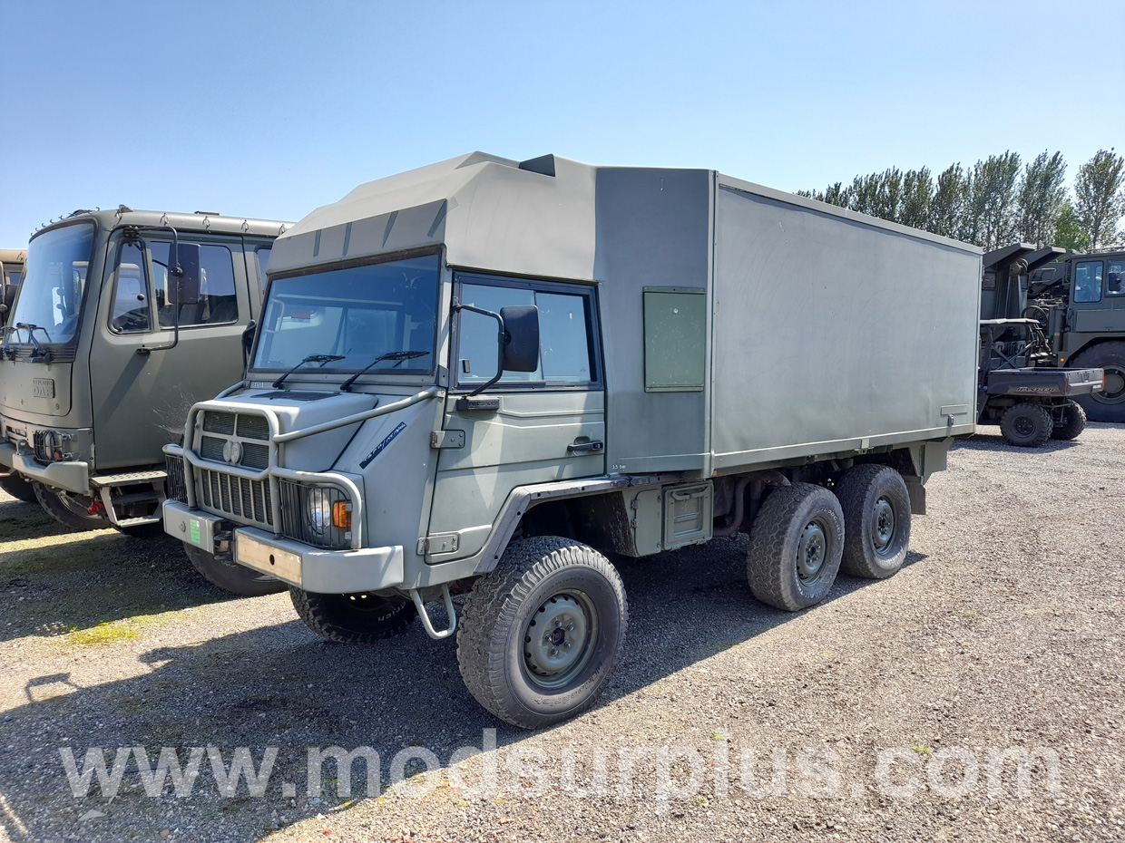 MoD Surplus, ex army military vehicles for sale - Pinzgauer 718 6×6 Comms Truck