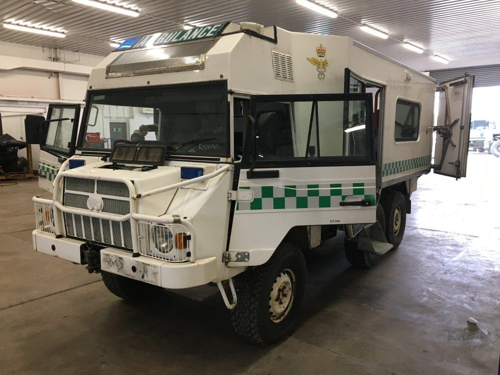 military vehicles for sale - Pinzgauer 718 6×6 Ambulance