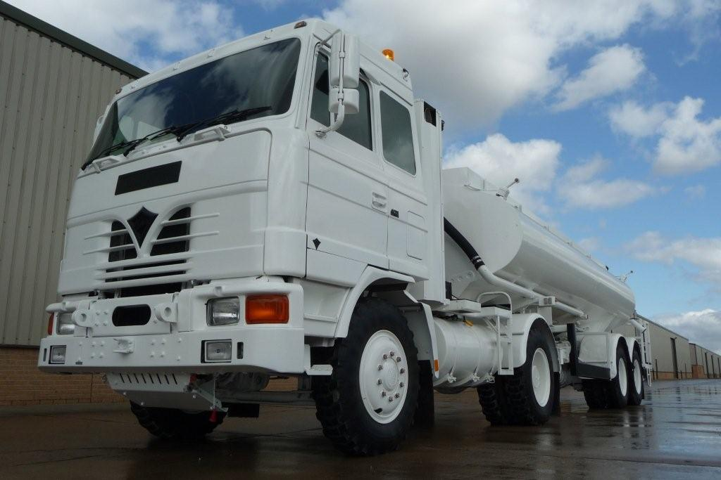 MoD Surplus, ex army military vehicles for sale - Foden MWAD 8x6 Dust Suppression Tanker Truck