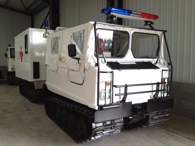 military vehicles for sale - Hagglunds Bv206 Ambulance (Soft Top)