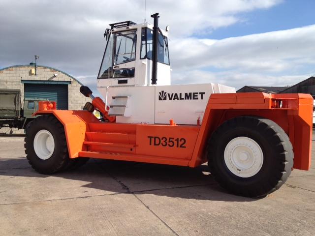 Valmet / Sisu TD 3512 Forklift - ex military vehicles for sale, mod surplus