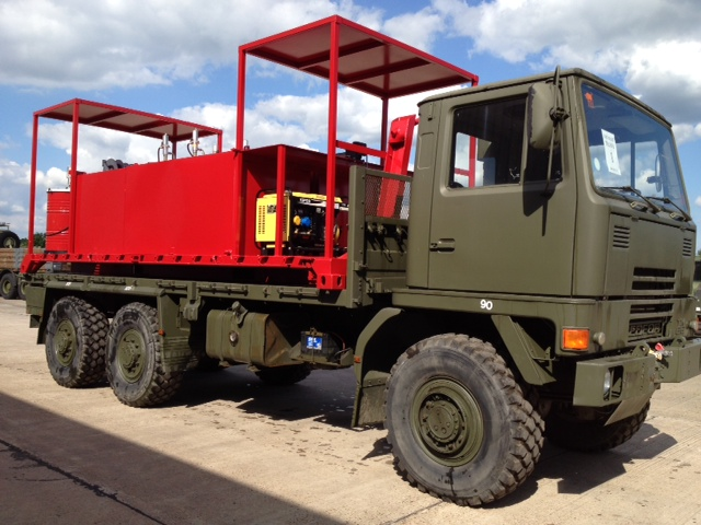 MoD Surplus, ex army military vehicles for sale - Bedford TM 6x6 (Demountable) Service / Lube Truck