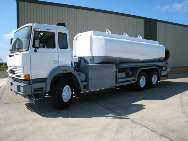 military vehicles for sale - Iveco 6x4 18,000 litre tanker truck
