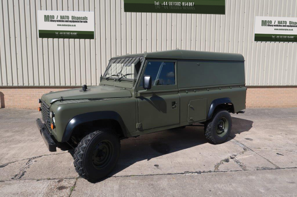 Land Rover Defender 110 RHD - ex military vehicles for sale, mod surplus