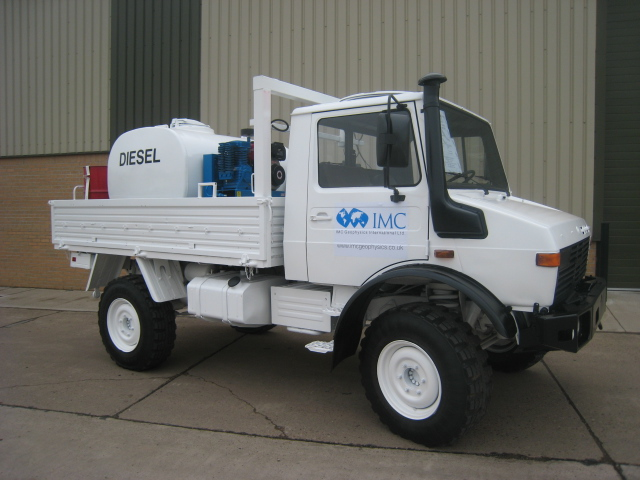 military vehicles for sale - Mercedes unimog U1300L service truck