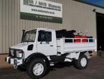 Mercedes unimog 4x4 RHD service truck with winch